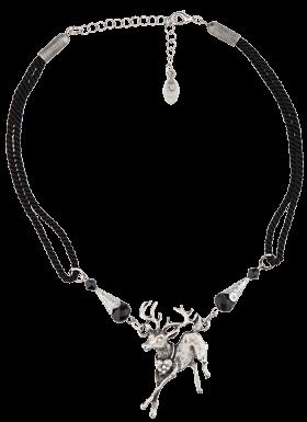 Halskette mit Hirschanhänger