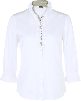 Traditional blouse Stella white