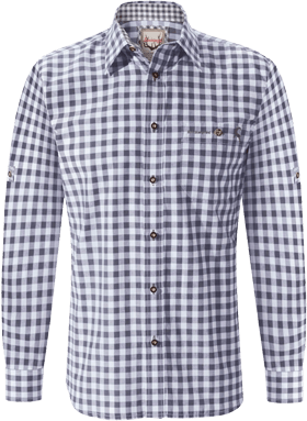 German traditional shirt Mitchel grey