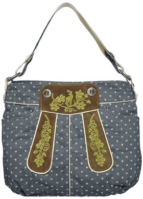 Traditional dirndl bag