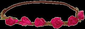 Haarstecker Blüten pink