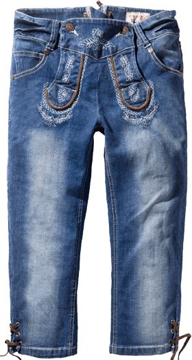 Traditional jeans trousers Momo trueblue