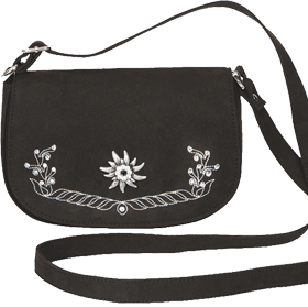 Trachtentasche schwarz klassik