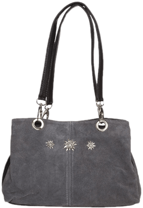 Traditional dirndl bag grey
