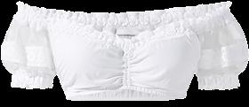 Traditional dirndl blouse B7150 white