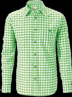 Trachtenhemd Wanderhemd karo apfel