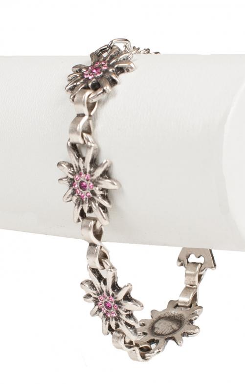 Armkette AB9197 EDW mit Steine pink