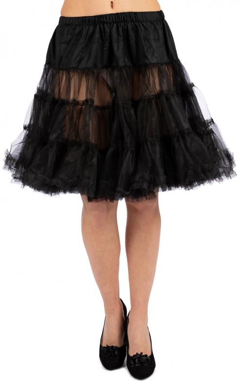 Trachten Petticoat 50cm schwarz