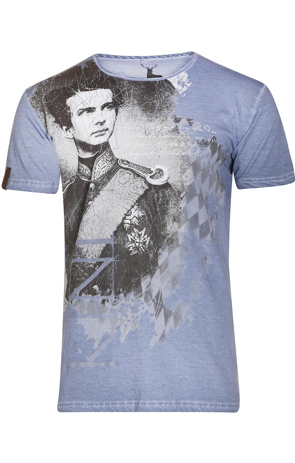 weitere Bilder von Trachten T-Shirt M30 WIGGERL blau