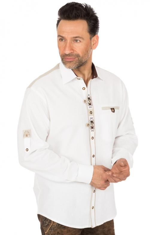 Trachtenhemd VENDER weiss